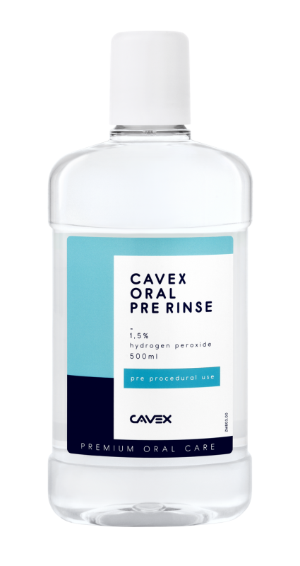 Cavex Oral Pre Rinse - 500 ml