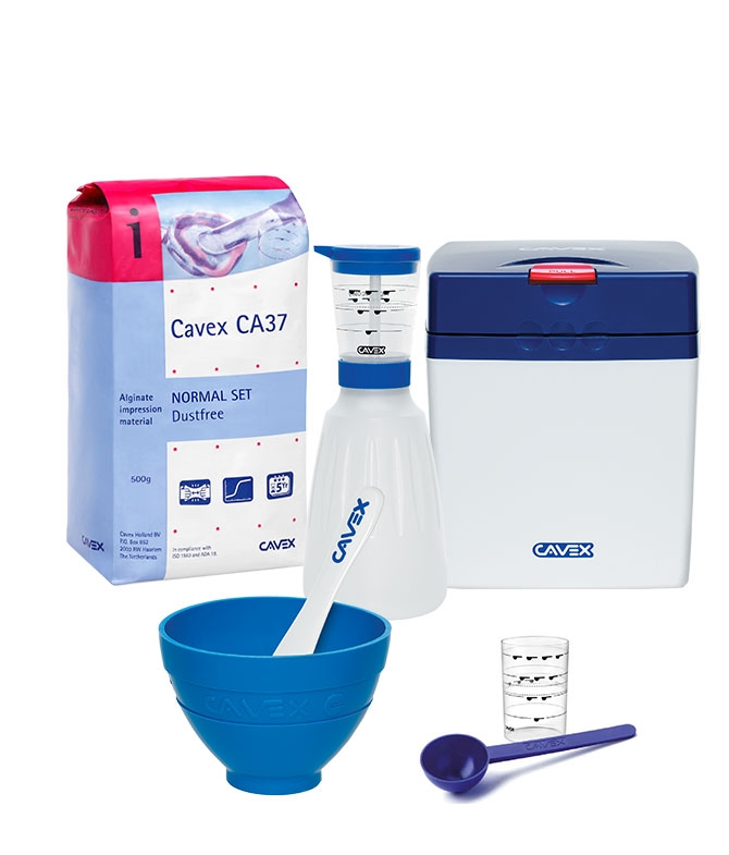 Cavex ColorChange System Pack normal abbindend