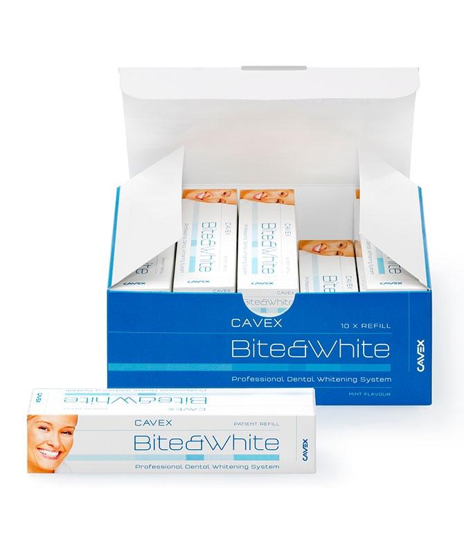 Cavex Bite&White Kit Refill 10 x 3ml